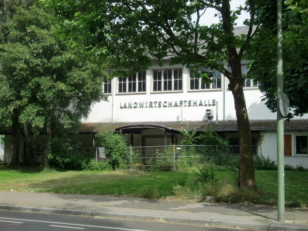 Landwirtschaftshalle Kaiserslautern, synonym für den Niedergang der nordpfälzer Landwirtschaft